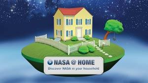 NASA at Home graphic