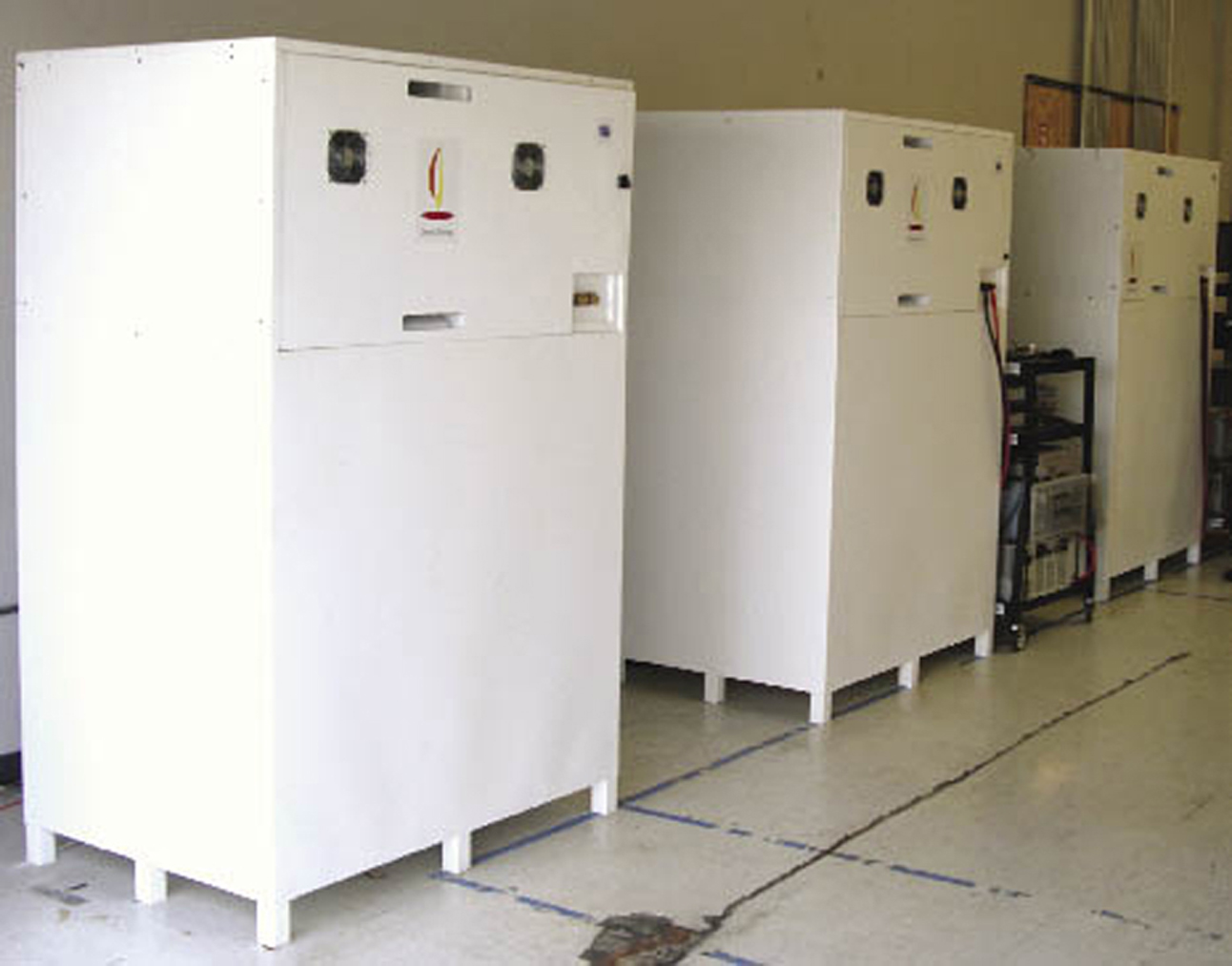 Battery Technology Stores Clean Energy