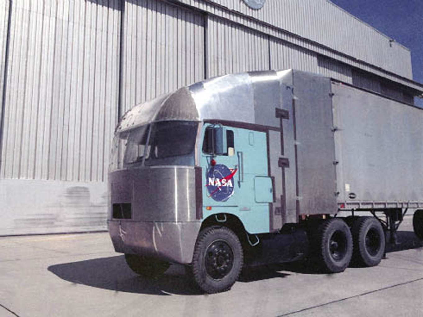 nasa truck side view - photo #2