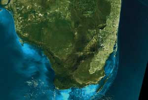 Feature Detection Systems Enhance Satellite Imagery - Detailed satellite imagery