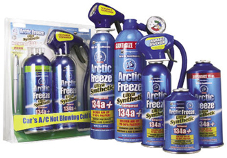 Do It Yourself Additives Recharge Auto Air Conditioning