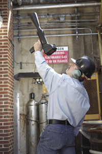 Ultrasonic Detectors Safely Identify Dangerous Costly Leaks