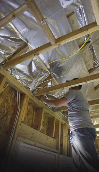 Radiant Barriers Save Energy in Buildings