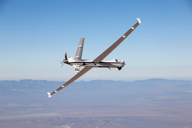 NASA's unmanned Ikhana aircraft in flight