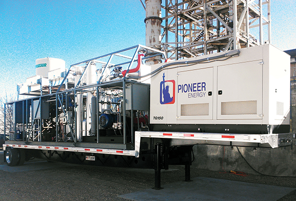 Pioneer Energy's Mobile Alkane Gas Separator (MAGS) system