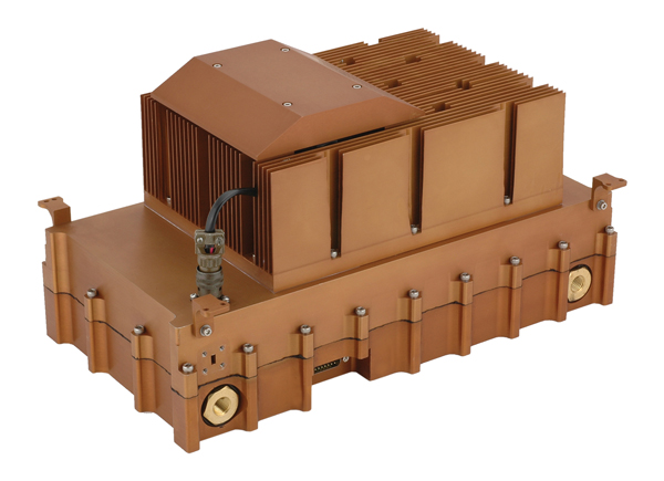 QuinStar dual-frequency solid-state power amplifier