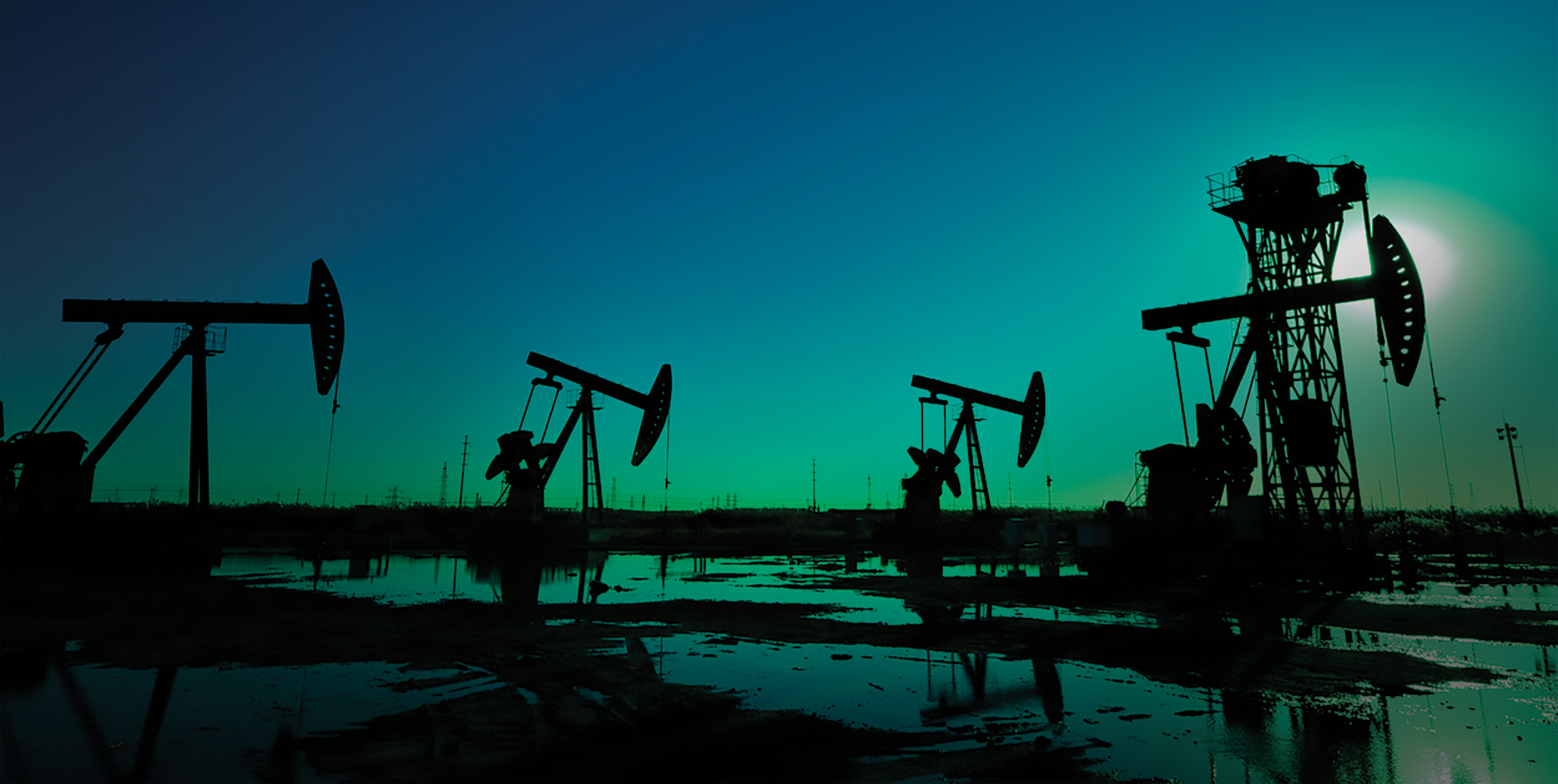 Image of a natural gas field