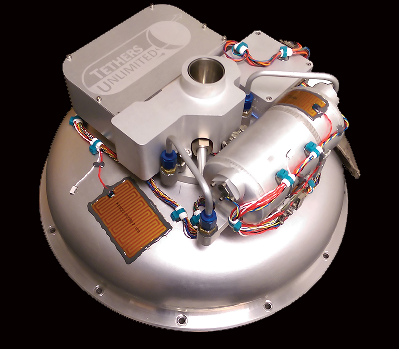 Tethers Unlimited's HYDROS-C thruster for CubeSats