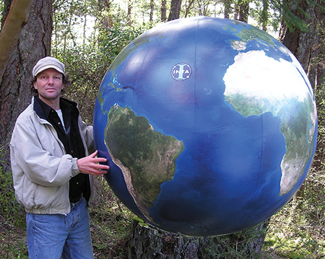 Eric Morris, founder of Orbis World Globes