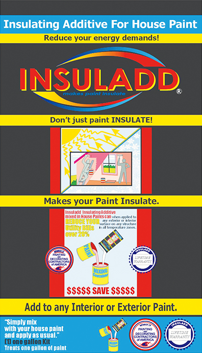 Insuladd paint additive