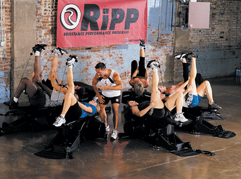 The RiPP Resistance Performance Program is being used in a fitness club