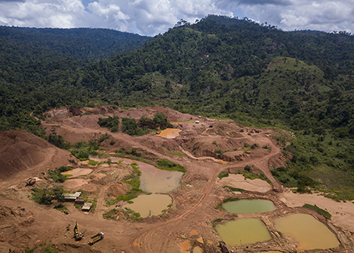 A legal gold mine in Ghana