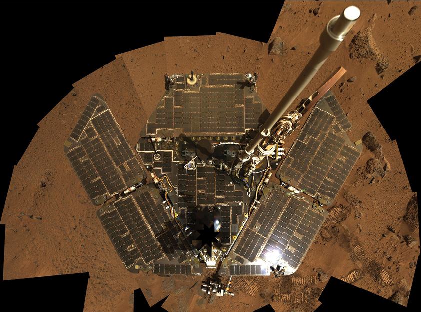 Self-portrait of Mars Opportunity rover