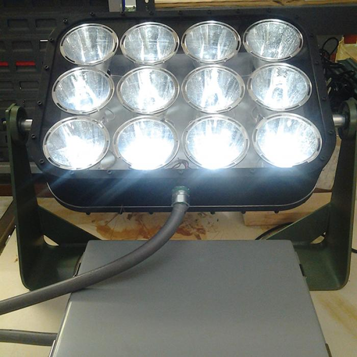 EnergyFocus LED floodlights