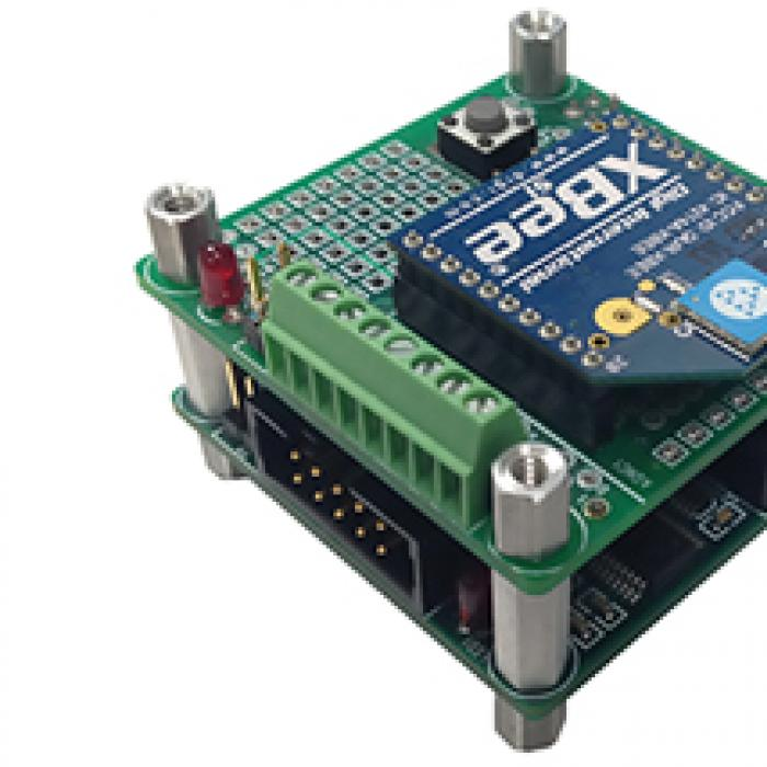 American GNC's Reconfigurable Embedded Smart Sensor Node and Smart Transducer Integrator