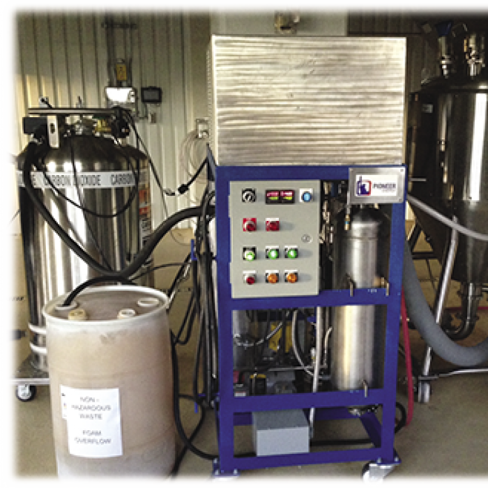 CO2 Craft Brewery Recovery System and tanks