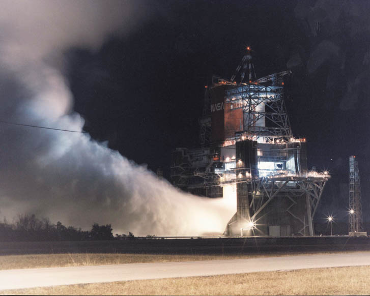 Space Shuttle Engine Test - Pics about space